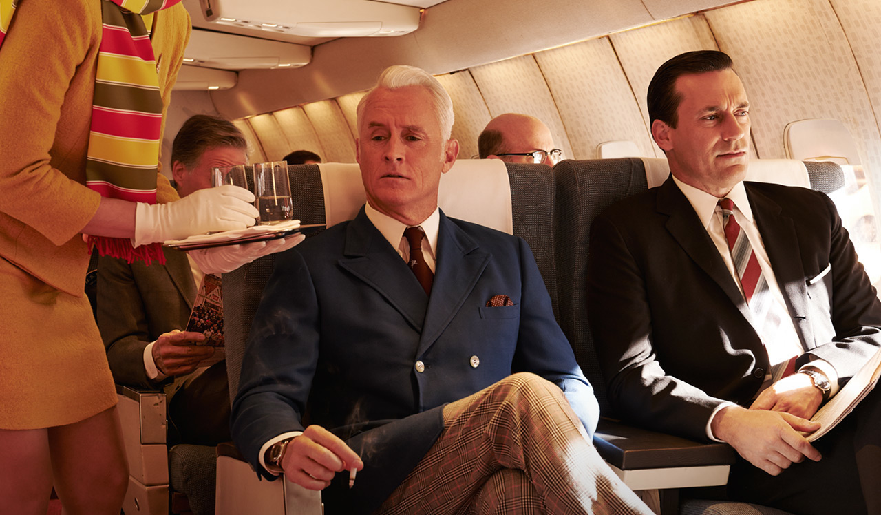 Mad Men on a plane