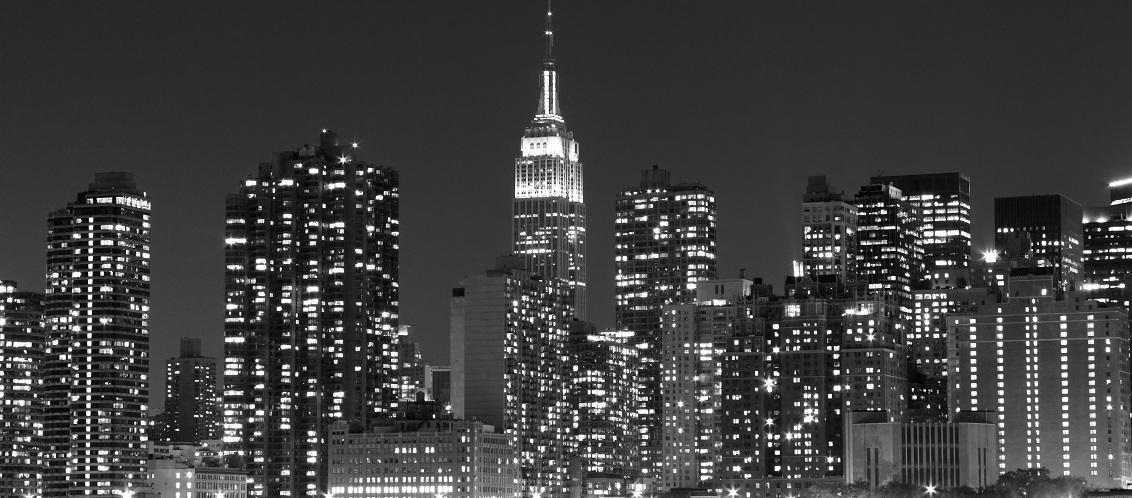 New York - Black & White