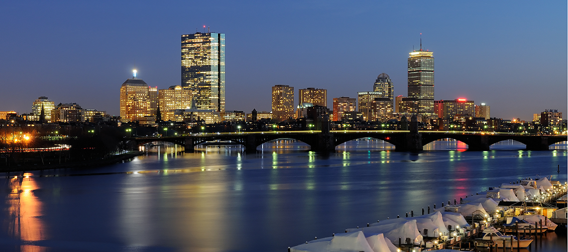 Boston - River View Night cropped