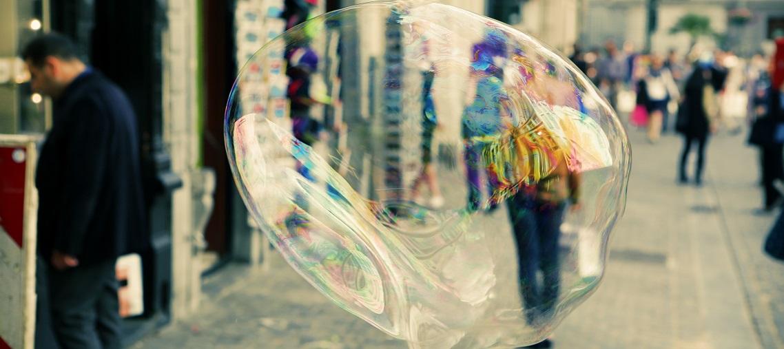 bubble in street cropped
