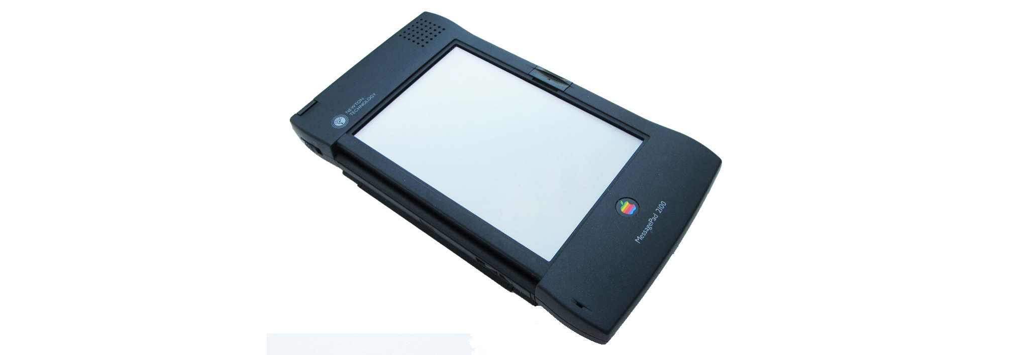 The Apple Newton on white background