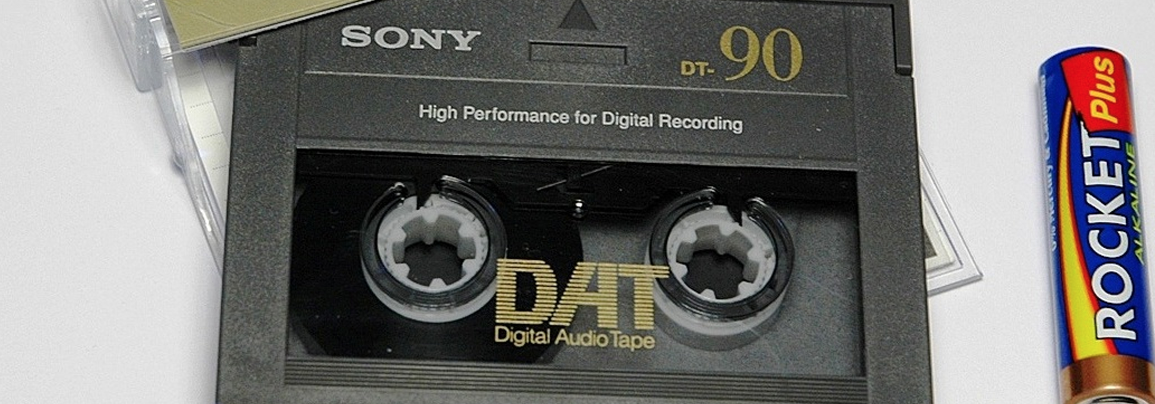 Digital Audio Tapes