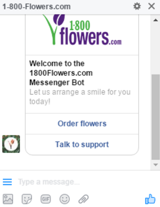 1-800-Flowers Chatbot