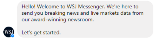 Wall Street Journal Chatbot