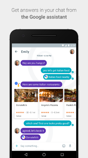 Google's Allo Assistant Chatbot