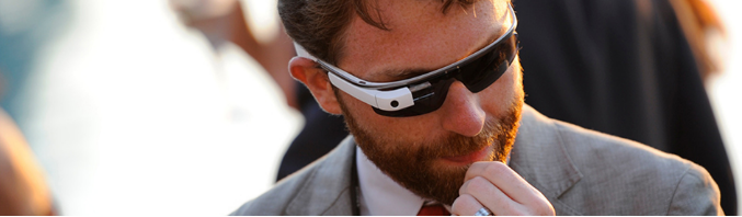 An image of Google Glass