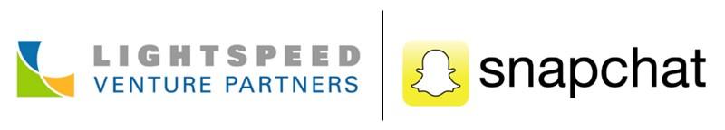 Lightspeed Ventures Snapchat logos