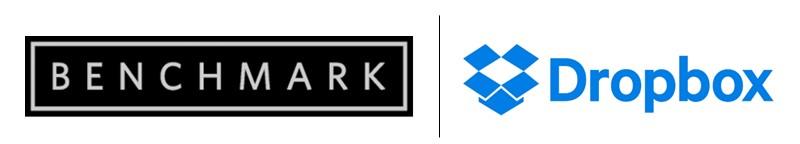 Benchmark Capital Dropbox logos