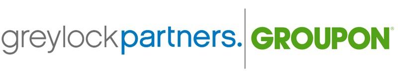Greylock Partners Groupon logos