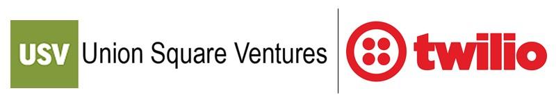 Union Square Ventures Twilio logos