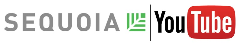 Sequoia YouTube logos