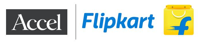 Accel Flipkart logos