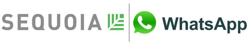 sequoia whatsapp logos