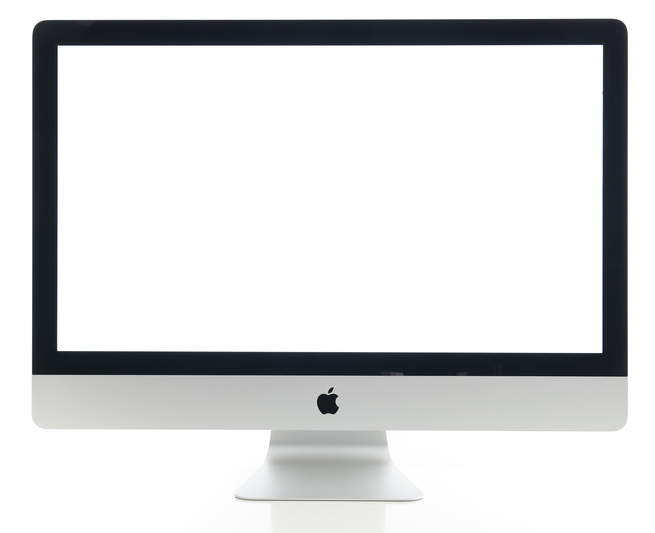 Apple iMac 27 inch desktop computer
