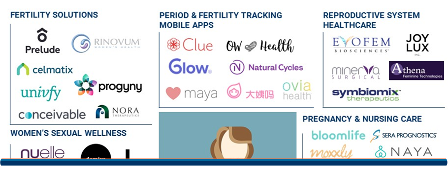 Comment on The Femtech Market Map: 45+ Startups Focused On Women's Healthcare & Sexual Wellness by baxter