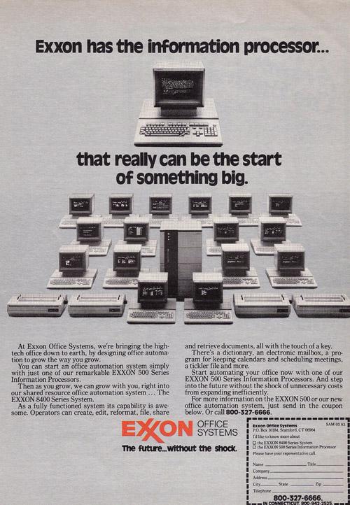 Exxon-Computer