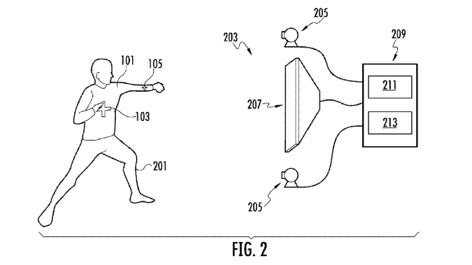 Nike patent Interactive gaming apparel