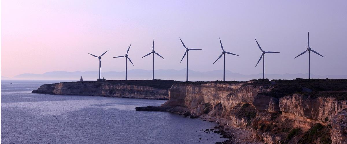 wind & turbine bozcaada