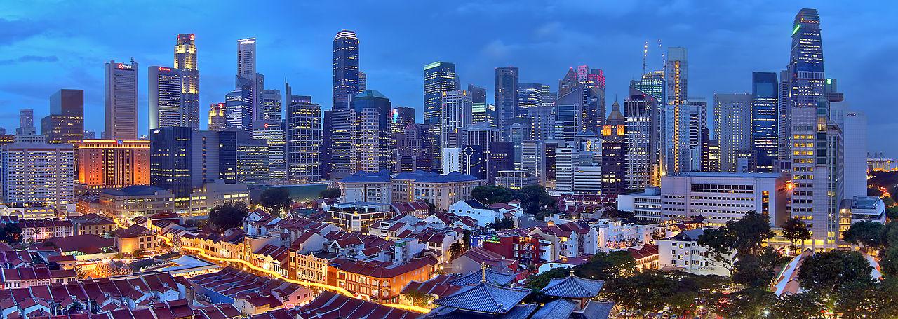 2017.03.07 Singapore Skyline