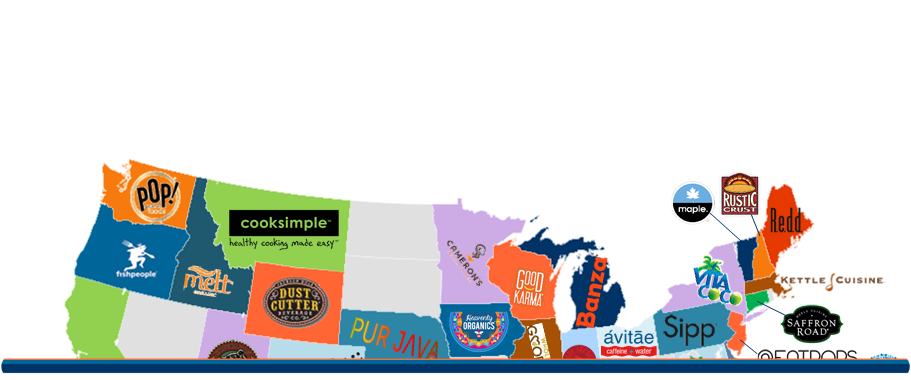 The United States of Food: The Most Well-Funded Food & Beverage Startups in Each State