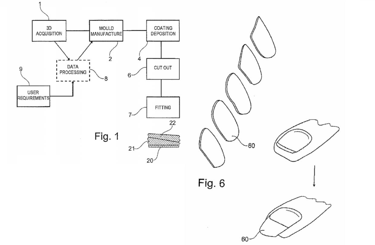 LOreal patent false nail printer
