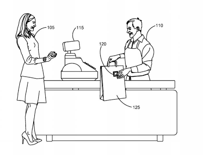 Apple food RFID tag patent
