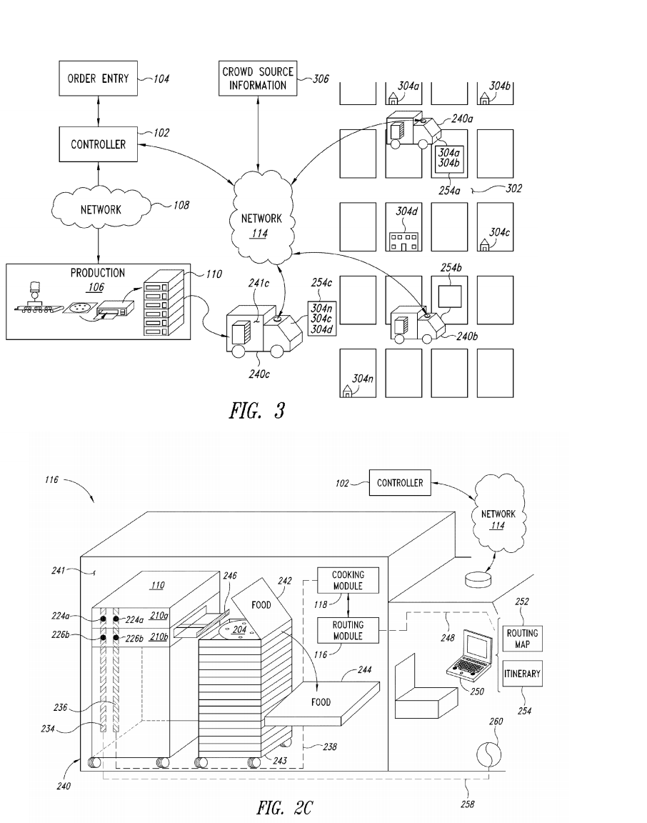 Zume pizza truck patents