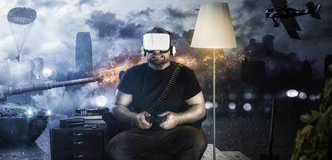 Virtual Reality Console Player