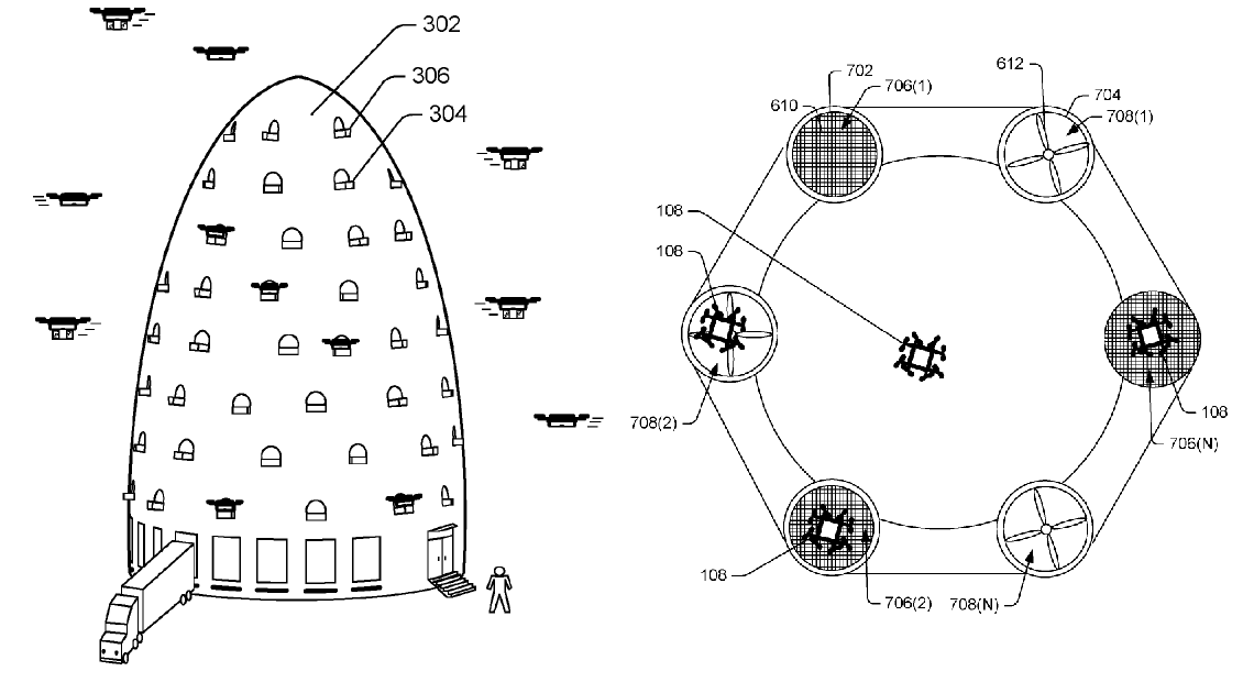 Drone Hive & Mechanism (Amazon)